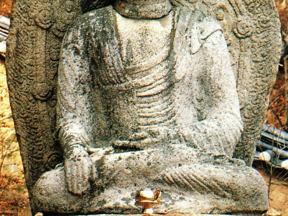 Bori sa buddha statue gyeongju nam san